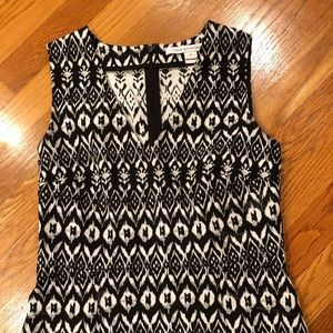 Diane Von Furstenburg sleeveless top